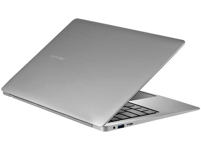 """Notebook Multilaser Legacy Air 4GB - SSD 32GB 13,3"""" Prata - 3"""