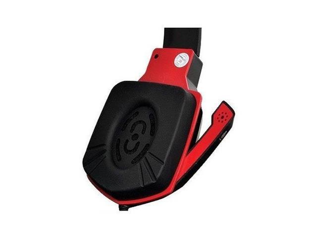Headset Gamer Multilaser Earpad de Silicone P2 Preto e Vermelho - 3