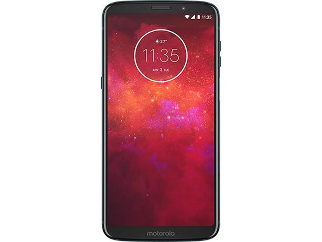 "Smartphone Motorola Moto Z3 Play 64GB 4G 6"" Dual Câmera 12+5 MP Índigo - 1"