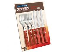Conjunto para Churrasco Tramontina 12 peças Cabo Claro