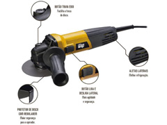 Esmerilhadeira Angular WAP EEA710 4.1/2 710W - 3