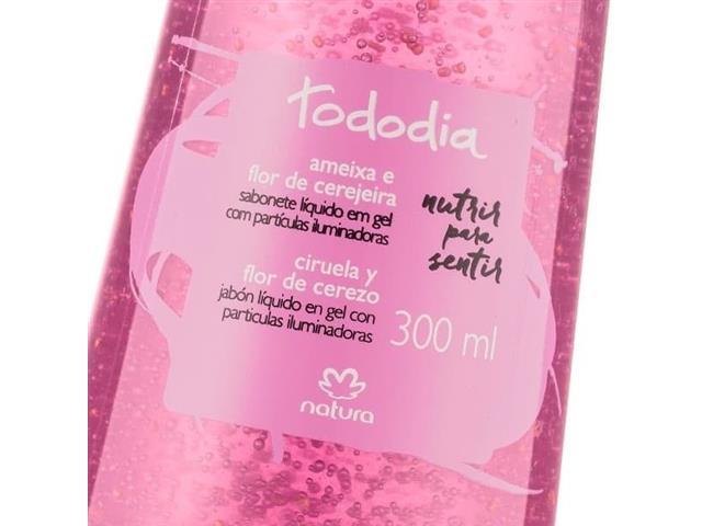 Sabonete Líquido Gel Natura Tododia Ameixa Flor Cerejeira - 1