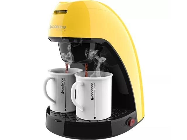 Cafeteira Single Cadence Colors Amarela - 1