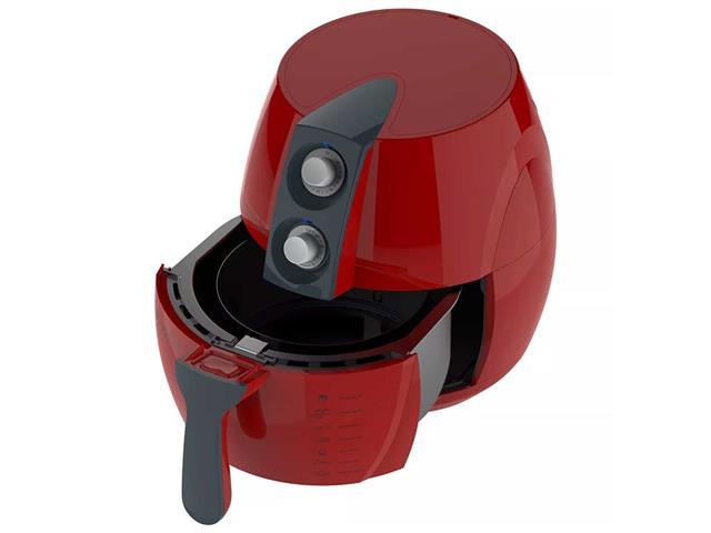 Fritadeira Sem Óleo Cadence Perfect Air Fryer Colors Vermelha