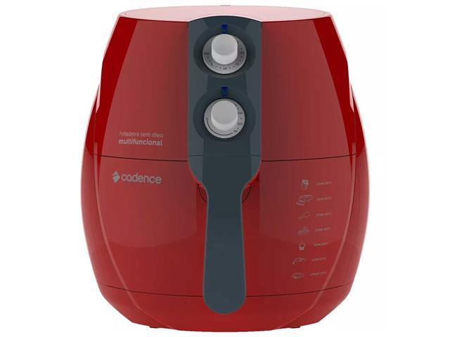 Fritadeira Sem Óleo Cadence Perfect Air Fryer Colors Vermelha - 1