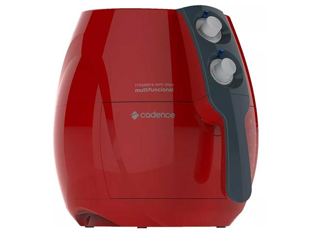 Fritadeira Sem Óleo Cadence Perfect Air Fryer Colors Vermelha - 2