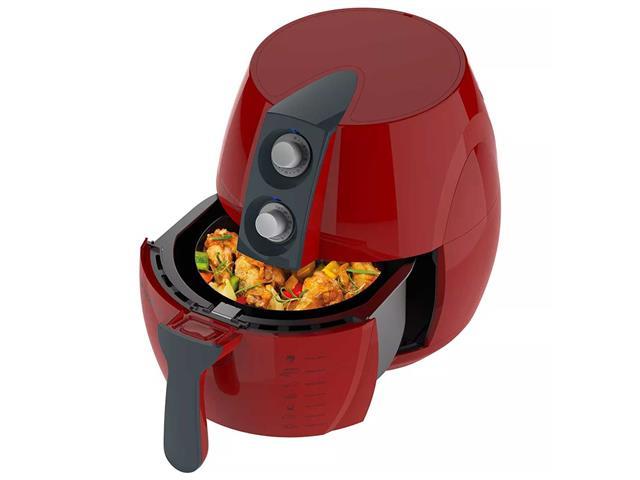 Fritadeira Sem Óleo Cadence Perfect Air Fryer Colors Vermelha - 3