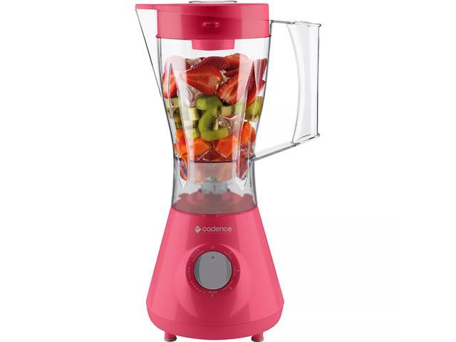 Liquidificador Cadence Colors Rosa Doce - 1