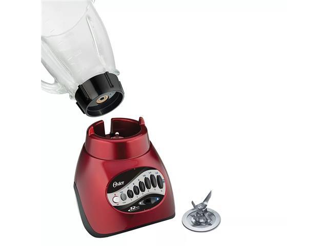Liquidificador Oster Versatile Vermelho 12 Velocidades - 1