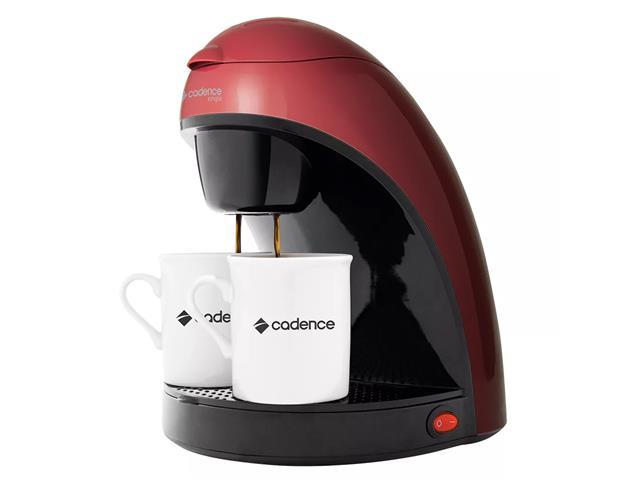Cafeteira Single Cadence Colors Vermelha 220V - 2