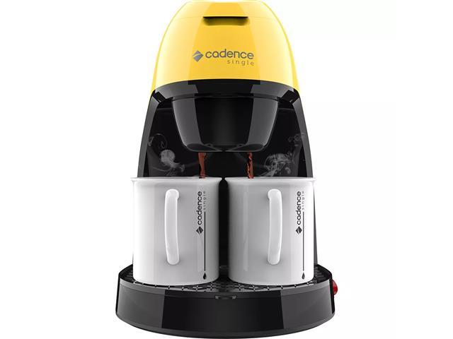 Cafeteira Single Cadence Colors Amarela - 110V