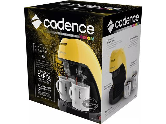 Cafeteira Single Cadence Colors Amarela - 220V - 5