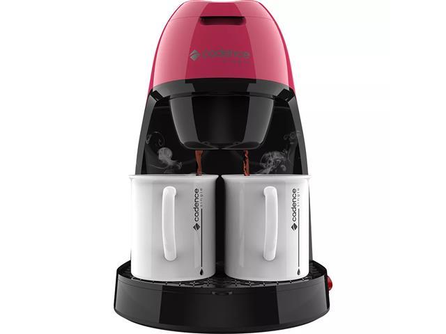Cafeteira Single Cadence Colors Rosa Doce - 110V