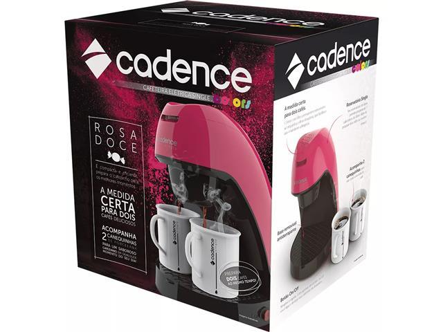 Cafeteira Single Cadence Colors Rosa Doce - 110V - 5