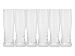 Kit Copos Oxford Cristal Twist Catarina 180 ml 6 unidades - 1