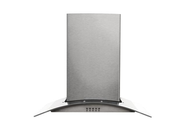 Coifa de Parede Cadence Gourmet Vidro Curvo Inox - 60 cm - 127V