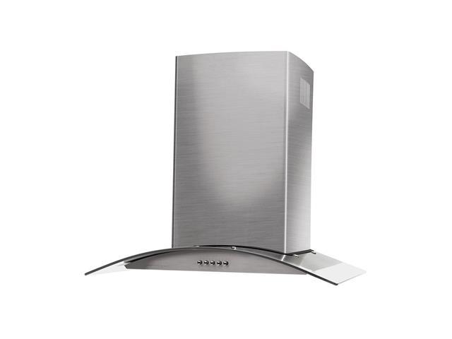 Coifa de Parede Cadence Gourmet Vidro Curvo Inox - 60 cm - 127V - 2
