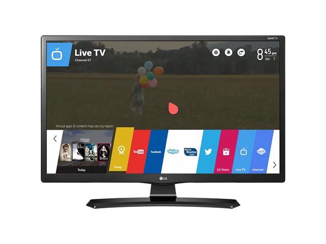 "Smart TV Monitor 28""HDTV Conv TV Digital 2 HDMI USB Wi-Fi WebOS 3.5 LG"