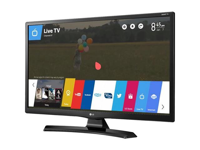 "Smart TV Monitor 28""HDTV Conv TV Digital 2 HDMI USB Wi-Fi WebOS 3.5 LG - 1"