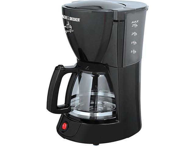 Cafeteira Elétrica Black&Decker 24 xícaras Preta 220V