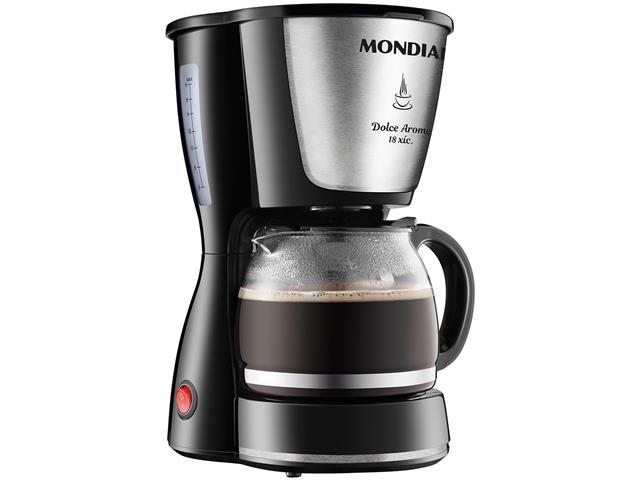 Cafeteira Elétrica Dolce Arome Inox 18 Xícaras Mondial 220V