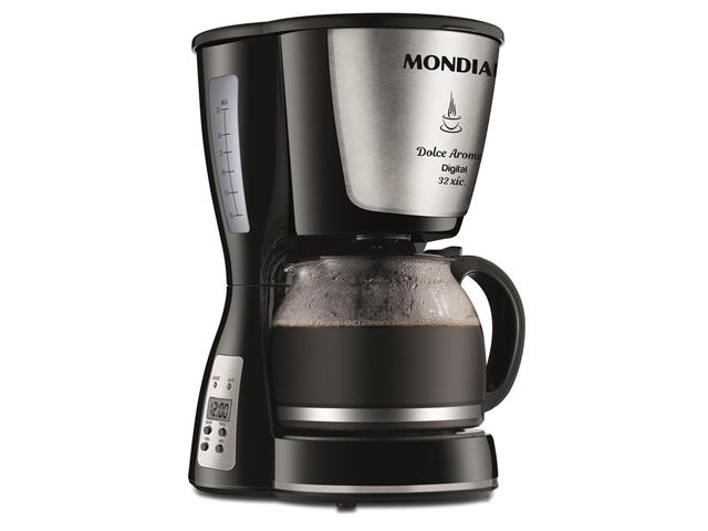 Cafeteira Elétrica Dolce Arome Digital 32 Xícaras Mondial 220V
