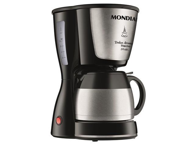 Cafeteira Elétrica Dolce Arome Thermo Inox 24 Xícaras Mondial 220V