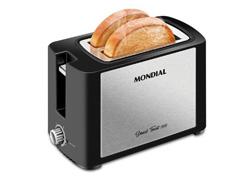 Tostador de pães Smart Toast Inox Mondial