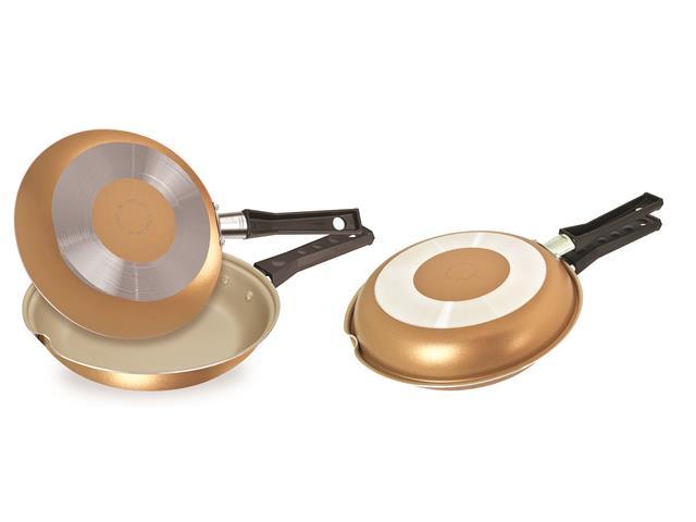 Omeleteira Fortaleza 22cm Artistic Gold