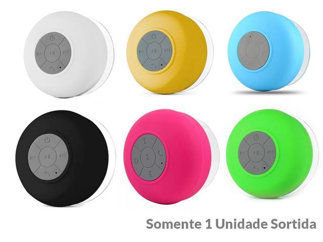 Mini Caixa de Som Portátil Bluetooth Sortida BTS-06