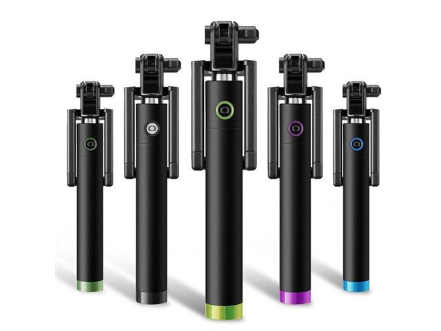 Bastão de Selfie Monopod Bluetooth Usb - Unidade Sortida