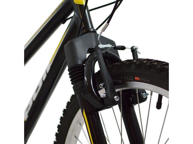 Bicicleta Delta MTB Aro 26 Preta com Suspensão Dianteira - 1