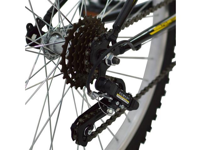 Bicicleta Delta MTB Aro 26 Preta com Suspensão Dianteira - 2