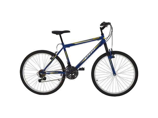Bicicleta Delta MTB Aro 26 Azul com Suspensão Dianteira