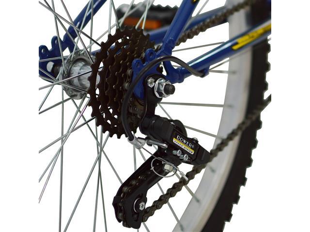 Bicicleta Delta MTB Aro 26 Azul com Suspensão Dianteira - 2