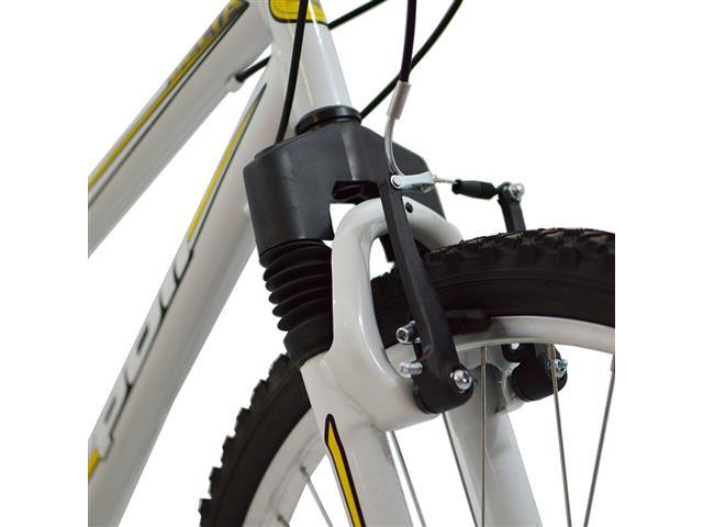 Bicicleta Delta MTB Aro 26 Branca com Suspensão Dianteira - 2
