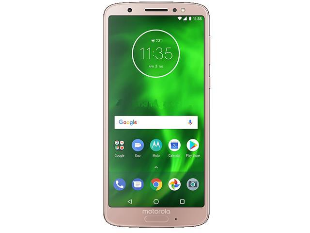 "Smartphone Motorola Moto G6 64GB Tela 5.7""4G Dual Câm 12+5MP Ouro Rosê - 1"