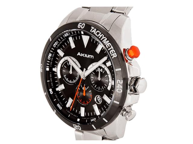 8fb4d1cb356 Relógio Vivara Akium Masculino Aço - 03F12Gb02A