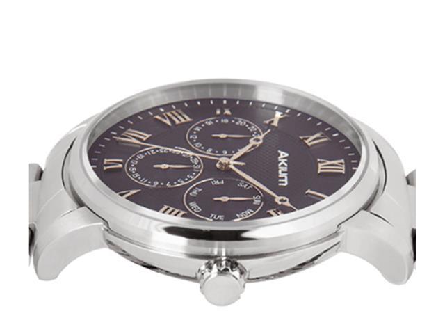 Relógio Vivara Akium Masculino Aço - 03E59Gb03A - 2