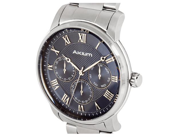 Relógio Vivara Akium Masculino Aço - 03E59Gb03A - 1