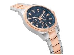 Relógio Nautica Masculino Aço Prateado E Dourado - Napstb005Ww - 2