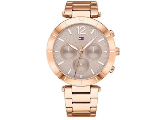 83bc3413914 Relógio Tommy Hilfiger Feminino Aço Rosé - 1781879