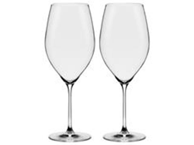 Conjunto Oxford Alumina Crystal Com 2 Taças De Cristal Bordeaux 920ml