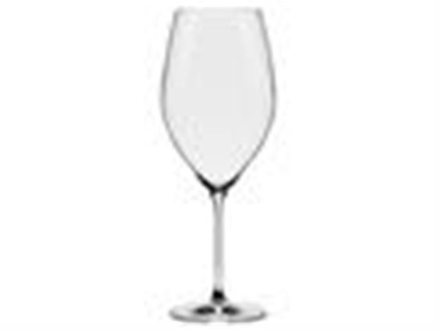 Conjunto Oxford Alumina Crystal Com 2 Taças De Cristal Bordeaux 920ml - 1