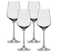 Conjunto Oxford Alumina Crystal Com 4 Taças De Cristal Bordeaux 650ml