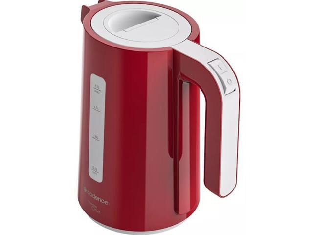 Chaleira Elétrica Cadence Thermo One Colors 1,7L Vermelha 110V - 1