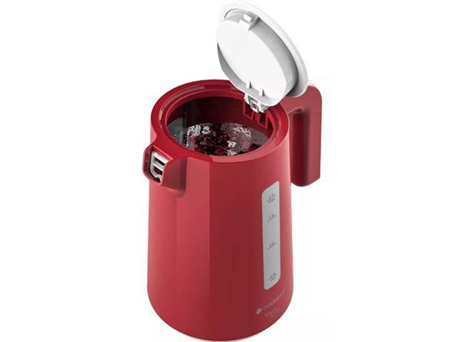 Chaleira Elétrica Cadence Thermo One Colors 1,7L Vermelha 110V - 2