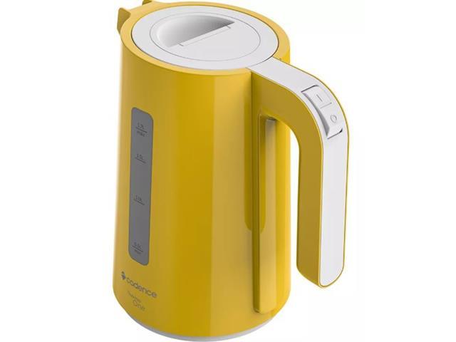 Chaleira Elétrica Cadence Thermo One Colors 1,7L Amarela 110V - 1