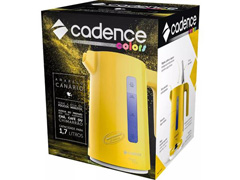 Chaleira Elétrica Cadence Thermo One Colors 1,7L Amarela - 4