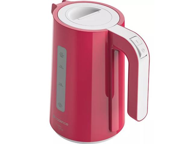 Chaleira Elétrica Cadence Thermo One Colors 1,7L Rosa - 1